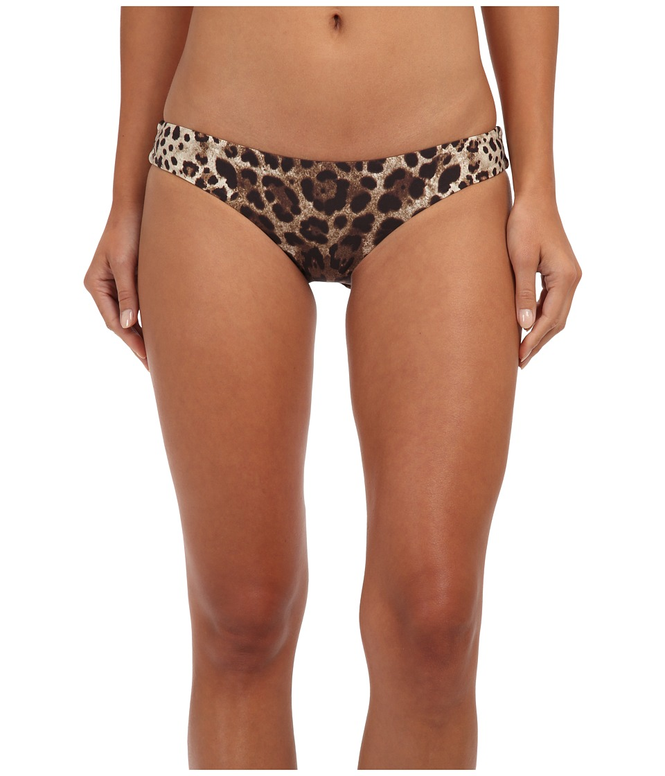 Vitamin A Swimwear - Paloma Seamless Hipster Full (Leopard) Women's Swimwear