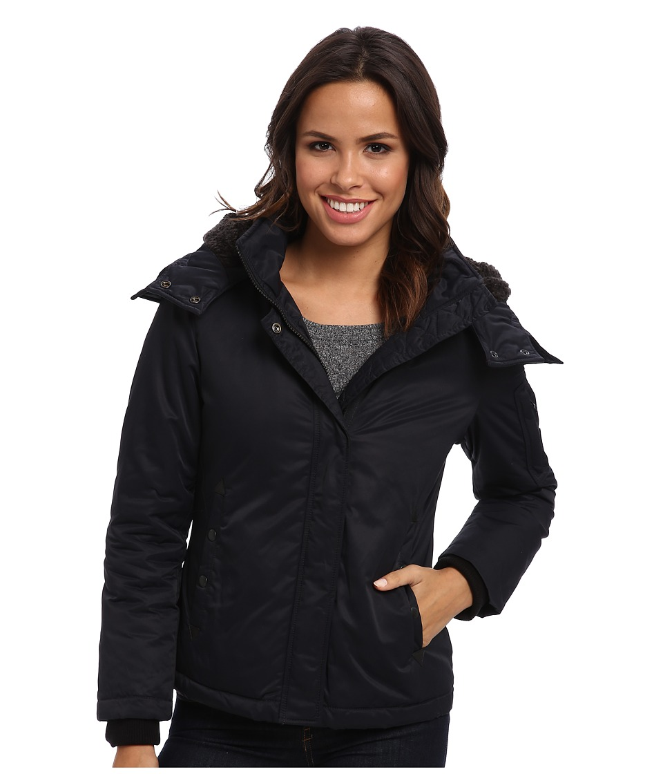 Spiewak - Waxed Aviation Jacket (Caviar) Women's Coat