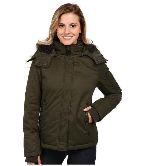 Spiewak - Waxed Aviation Jacket (Andrea Olive) Women's Coat