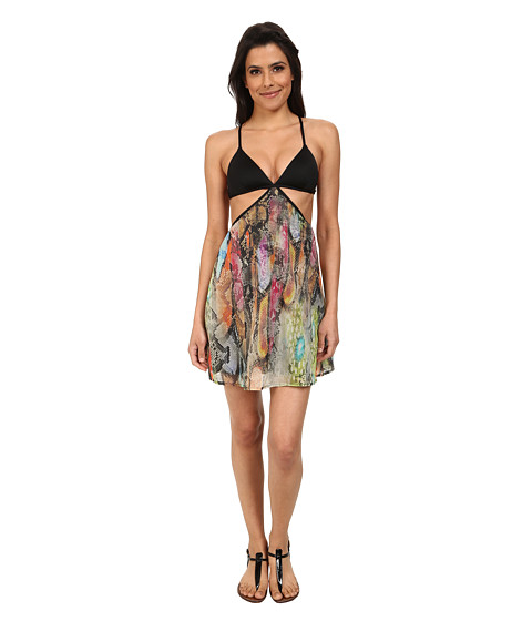 Vitamin A Swimwear - Valentina Dress Cover-Up (Chameleon Woven) Women