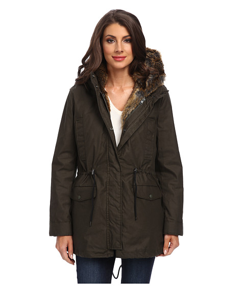 Spiewak - Sherman Fishtail Parka (Andrea Olive) Women's Coat