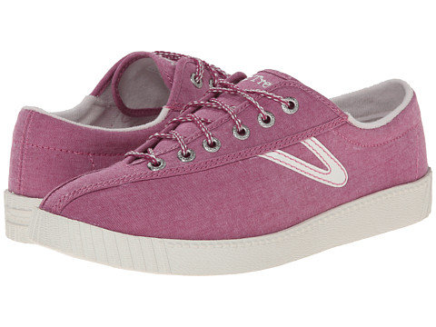 Tretorn - Nylite Chambray (Magenta Haze) Women's Lace up casual Shoes