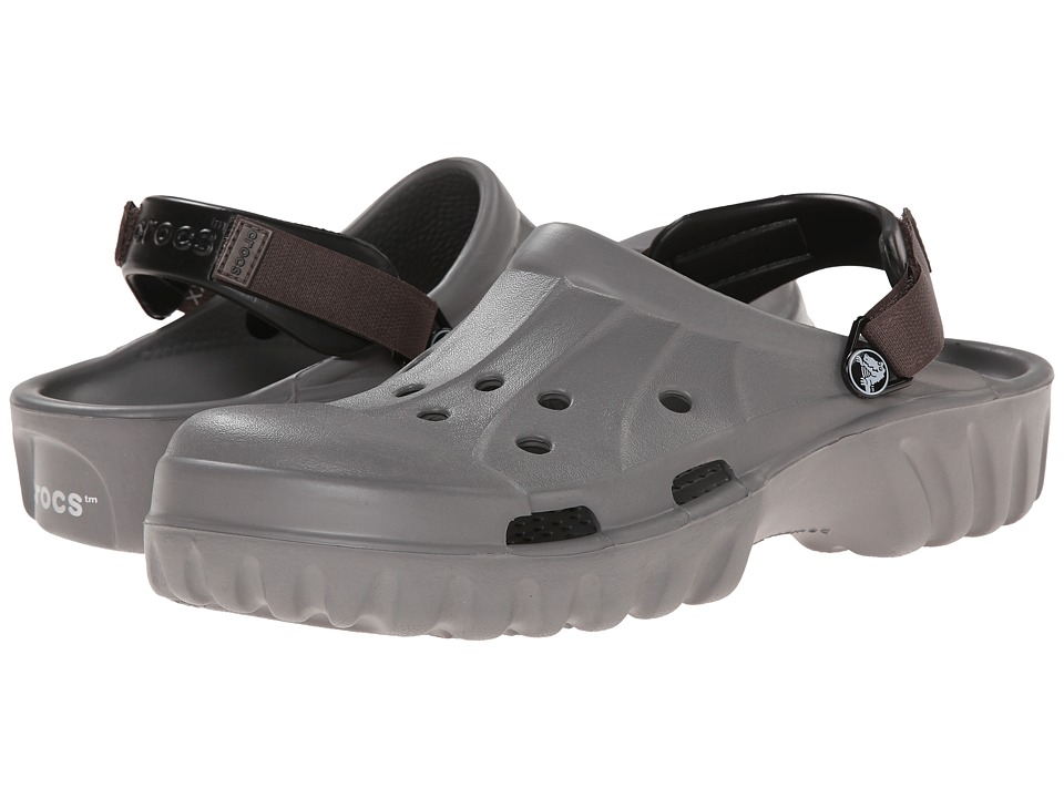 Crocs - Off Road (Smoke/Pewter) Clog Shoes