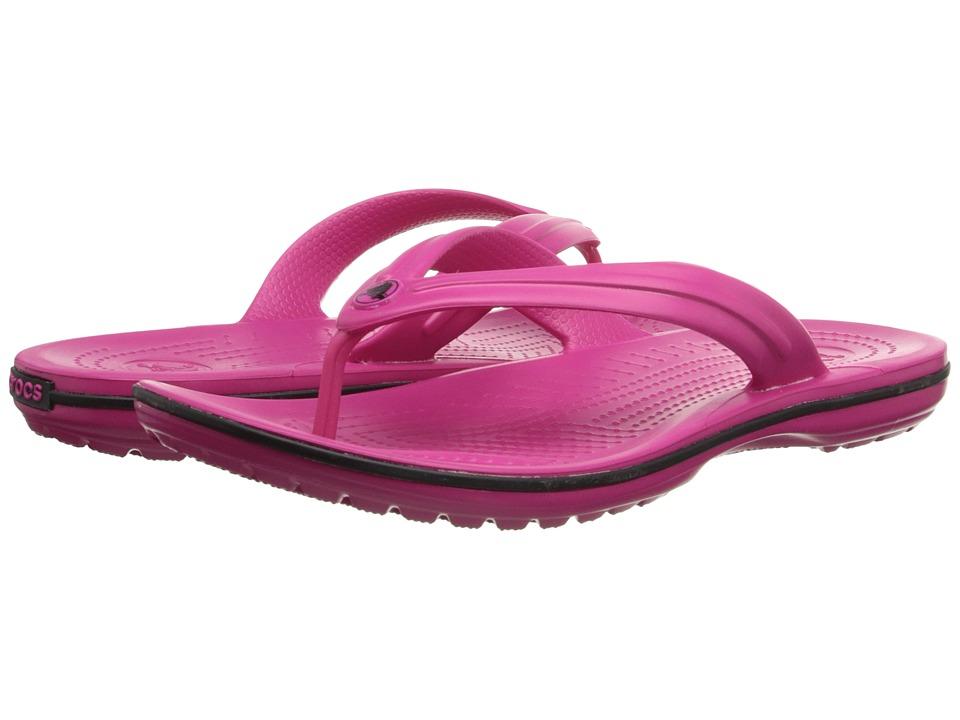 Crocs Crocband Flip (Candy Pink) Slide Shoes