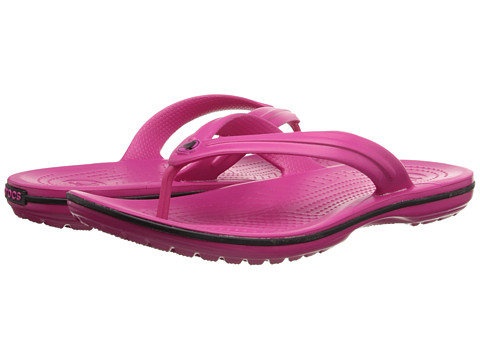 Crocs - Crocband Flip (Candy Pink) Slide Shoes