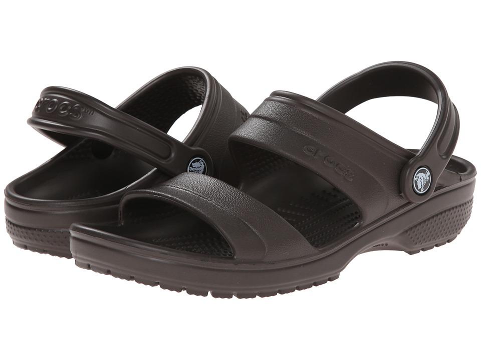 Crocs - Classic Sandal (Espresso) Sandals