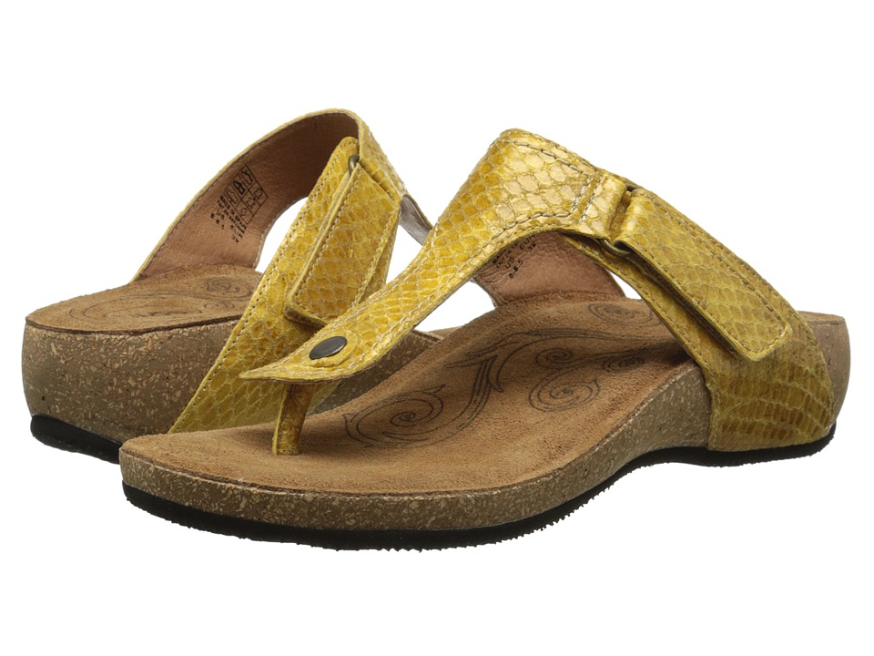 Taos Footwear - Lucy (Yellow) Women's Shoes