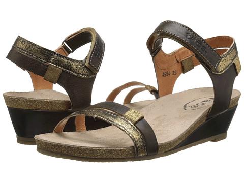 taos Footwear - Gala (Brown Multi) Women's Wedge Shoes
