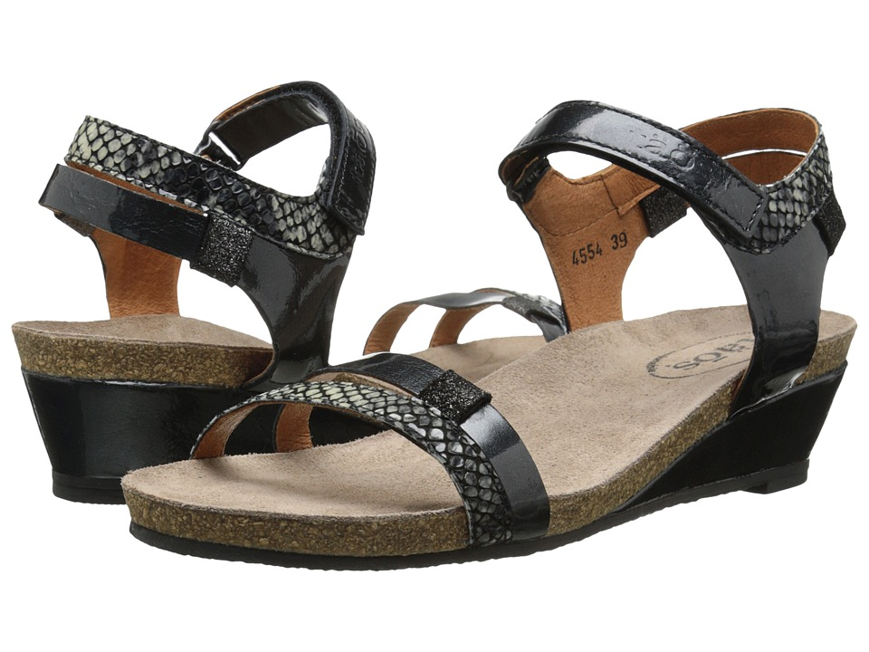 taos Footwear - Gala (Graphite) Women's Wedge Shoes