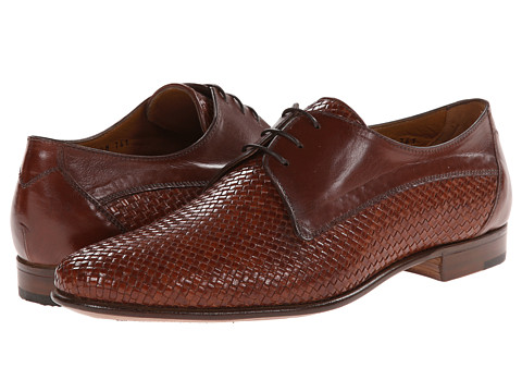 Gravati - Woven Blucher (Burgundy) Men