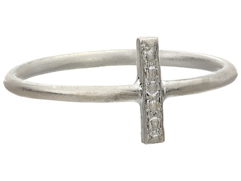 Dogeared - Balance Vertical Bar Ring (Sterling Silver) Ring