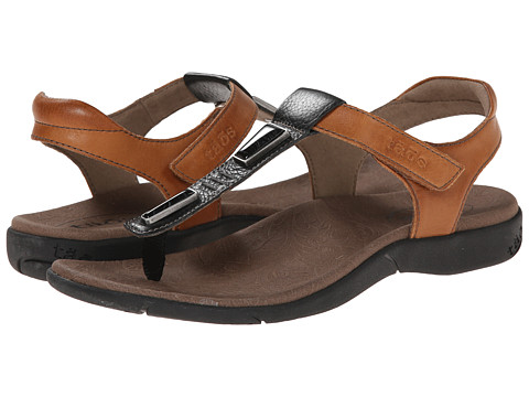 taos Footwear - Storyteller (Black/Tan) Women's Sandals