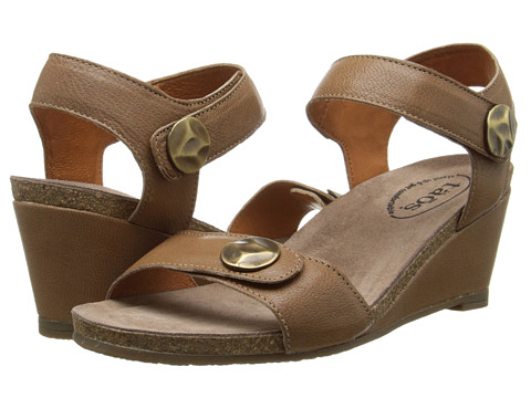 taos Footwear - Festival (Taupe) Women's Wedge Shoes