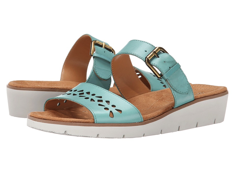 Naturalizer - Daria (Sailboat Turquoise Leather) Women's Sandals
