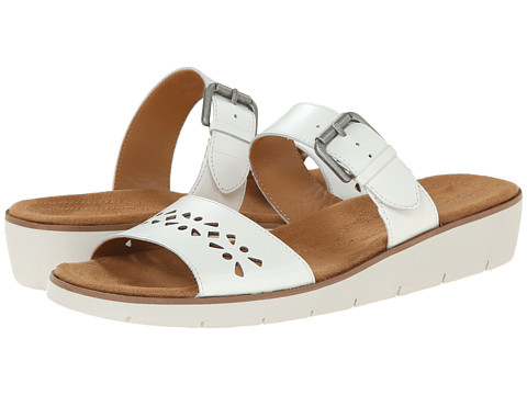 Naturalizer - Daria (White Smooth Leather) Women's Sandals