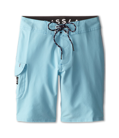 VISSLA Kids - Concav Boardshort (Big Kids) (Carolina Blue) Boy's Swimwear