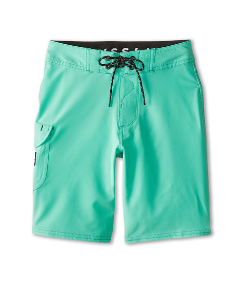 VISSLA Kids - Concav Boardshort (Big Kids) (Vissla Jade) Boy's Swimwear