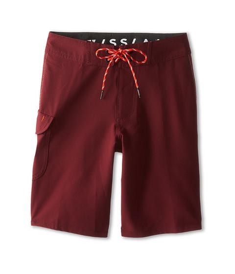 VISSLA Kids - Concav Boardshort (Big Kids) (Port) Boy's Swimwear