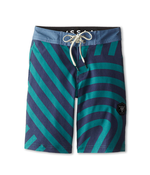 VISSLA Kids - Templates Boarshorts (Big Kids) (Emerald) Boy's Swimwear