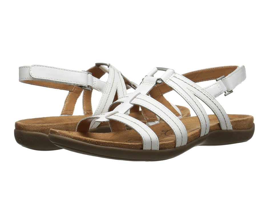 Naturalizer - Every (White Leather) Women's Sandals