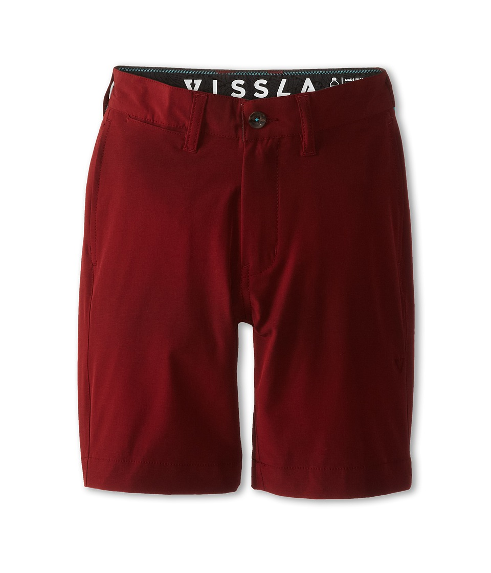 VISSLA Kids - Low Tid Hybrid (Big Kids) (Blood) Boy