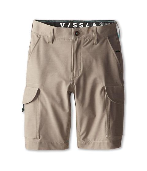 VISSLA Kids - High Tide Cargo (Big Kids) (Khaki) Boy