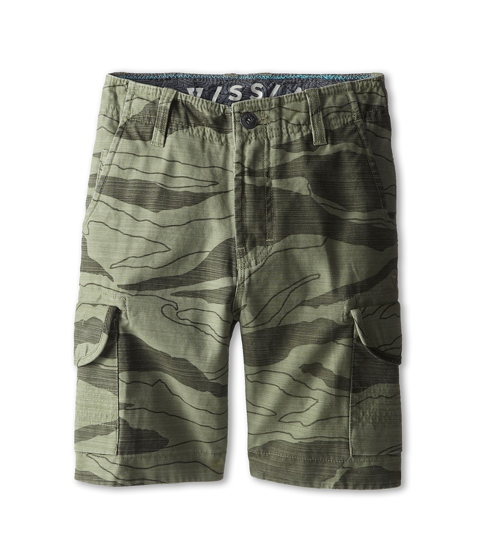 VISSLA Kids - Volan Cargo (Big Kids) (Surplus) Boy's Shorts