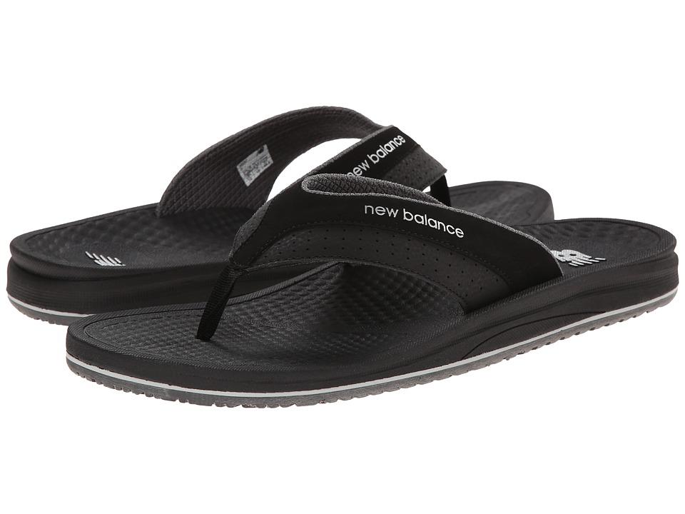 New Balance - PureAlign Thong (Black) Men's Shoes