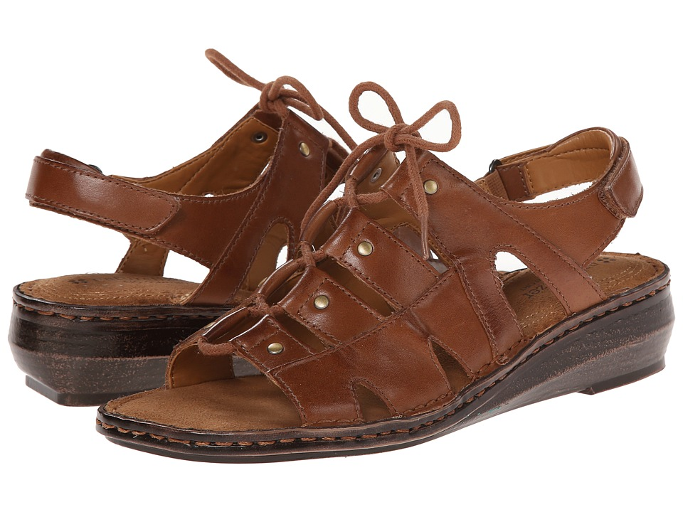 Naturalizer - Leona (Saddle Tan Leather) Women's Sandals