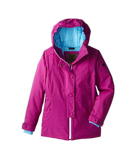 DC Kids - Data K 15 (Big Kids) (Hollyhock) Girl's Coat