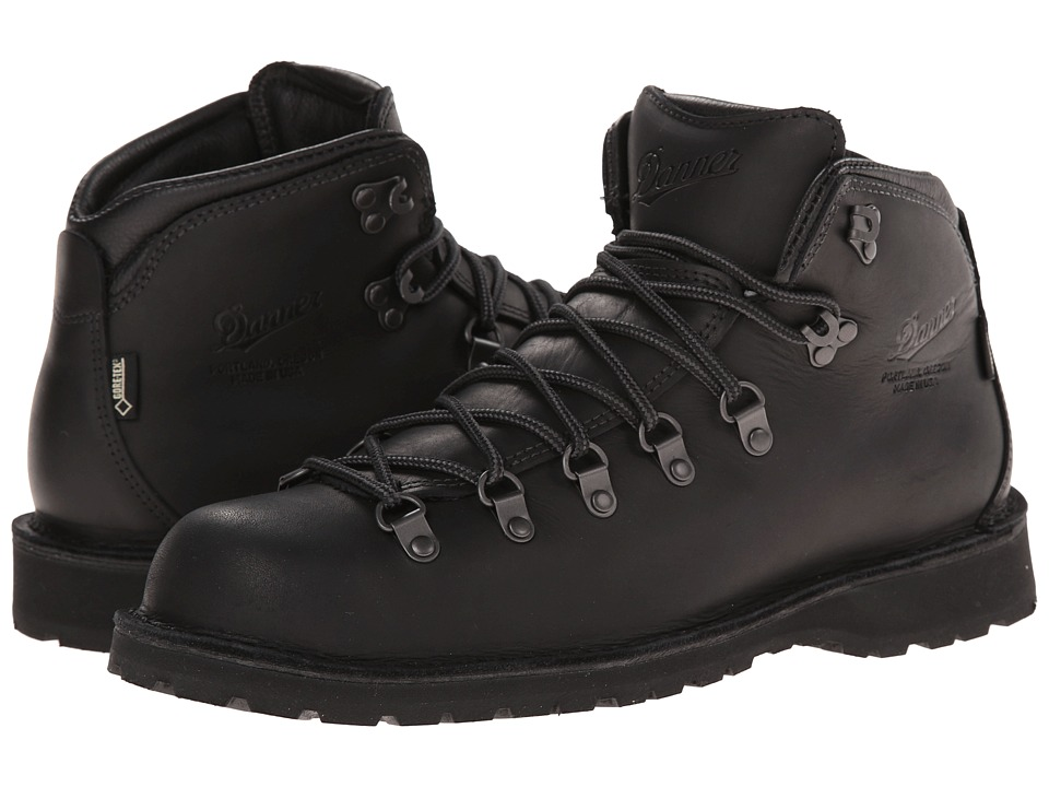 Danner - Mountain Pass (Black) Men's Work Boots