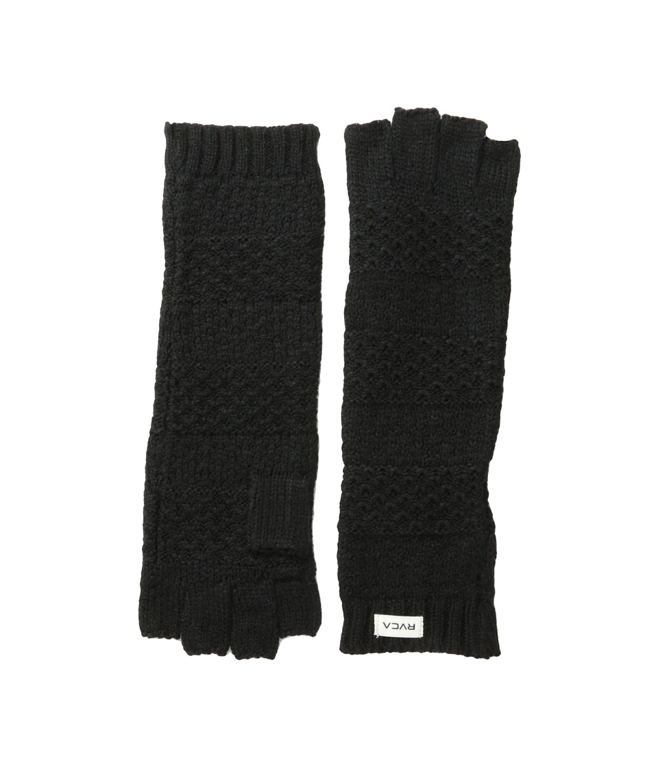 RVCA - Tenakee Glove (Black) Extreme Cold Weather Gloves