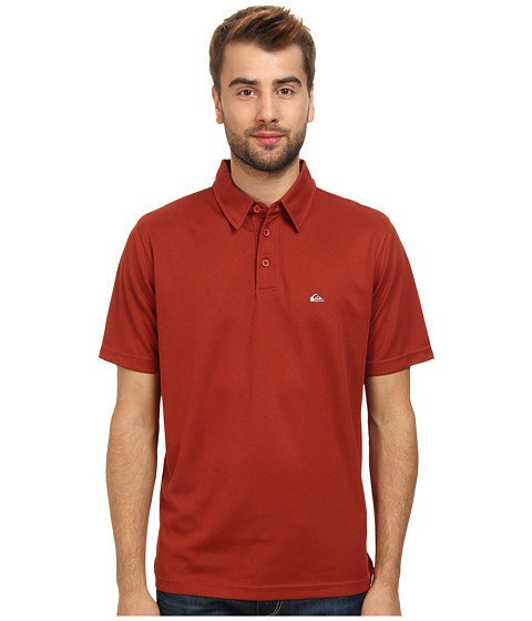 Quiksilver Waterman - Waterman Collection Water Polo 2 Knit Polo (Port) Men