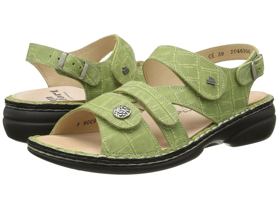 Finn Comfort - Gomera - S (Verde) Women's Sling Back Shoes
