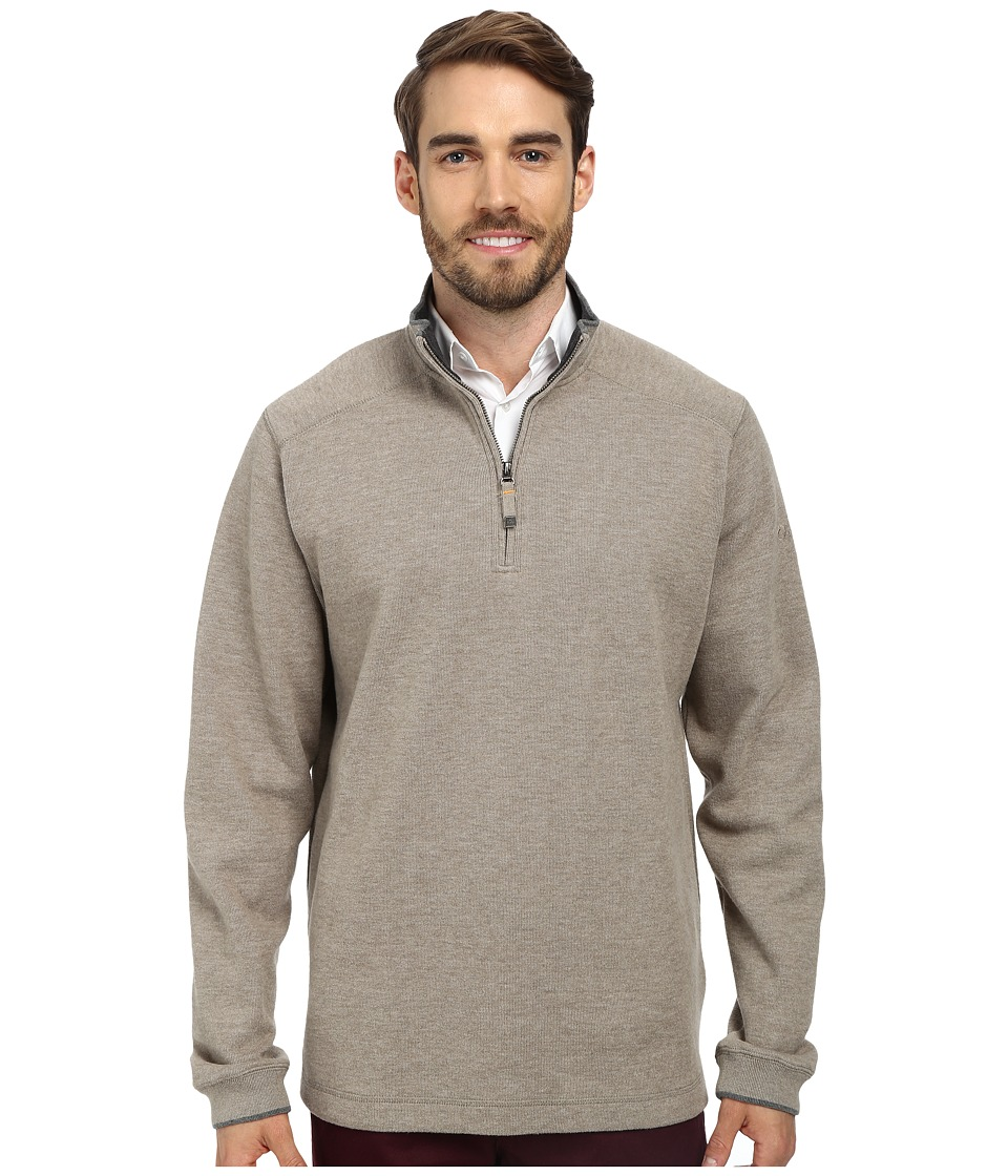 Quiksilver Waterman - Point Sur 2 Fleece Sweatshirt (Cliff) Men's Long Sleeve Pullover