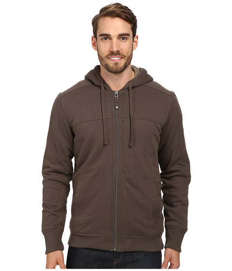 Quiksilver Waterman - Daze Fleece Top (Seal) Men's Sweatshirt