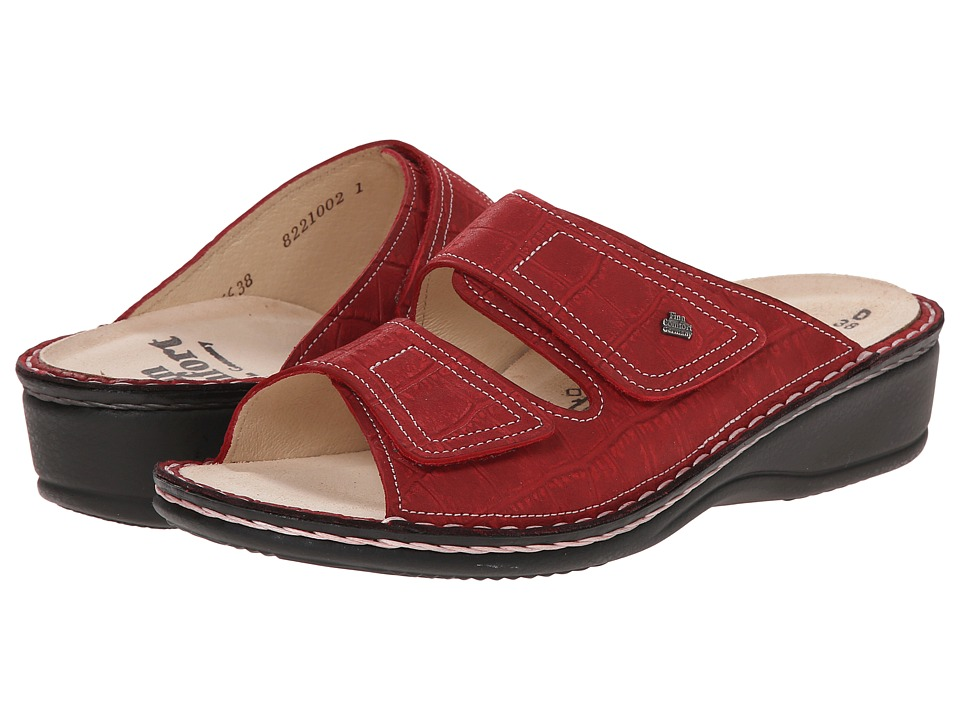 Finn Comfort - Jamaika - S (Red) Women's Sandals