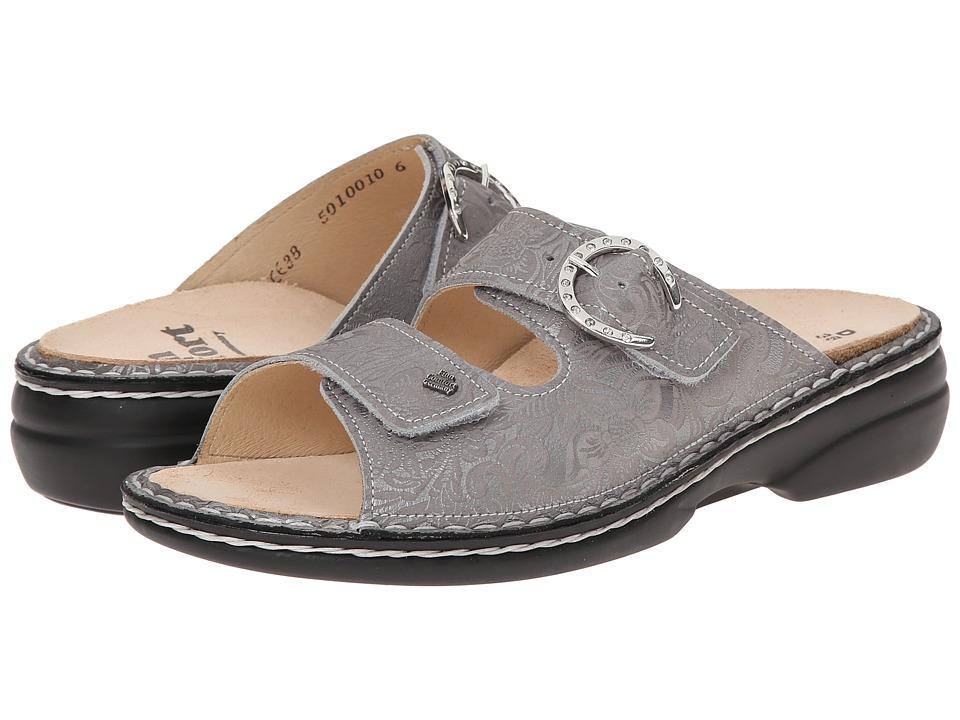 Finn Comfort - Mumbai (Silver) Women's Sandals