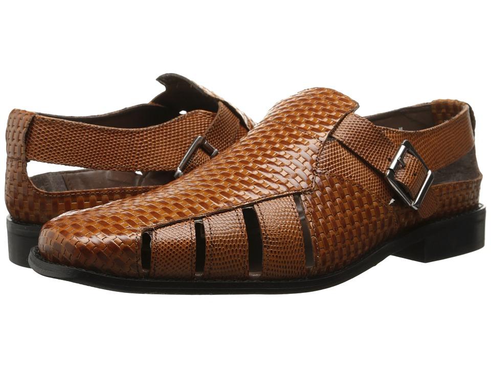Stacy Adams - Solera (Tan) Men's Slip on Shoes
