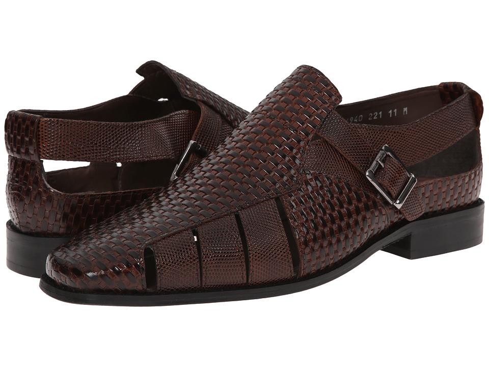 Stacy Adams - Solera (Cognac) Men's Slip on Shoes