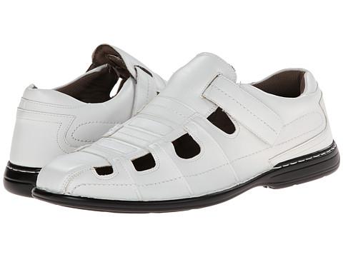 Stacy Adams - Belmar (White) Men's Shoes