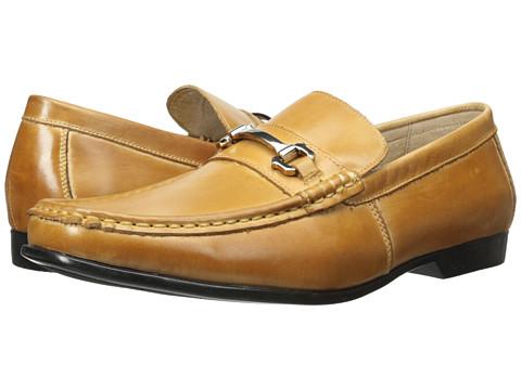 Stacy Adams - Ellory (Taupe) Men's Lace Up Moc Toe Shoes