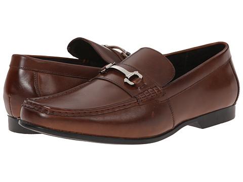 Stacy Adams - Ellory (Cognac) Men's Lace Up Moc Toe Shoes