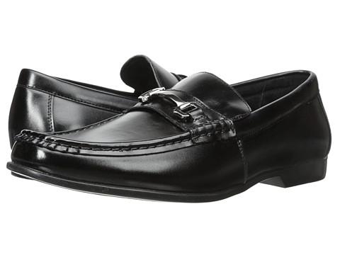 Stacy Adams - Ellory (Black) Men's Lace Up Moc Toe Shoes