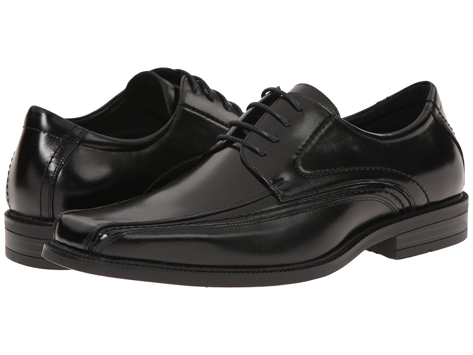 Stacy Adams - Danvers (Black) Men's Lace-up Bicycle Toe Shoes