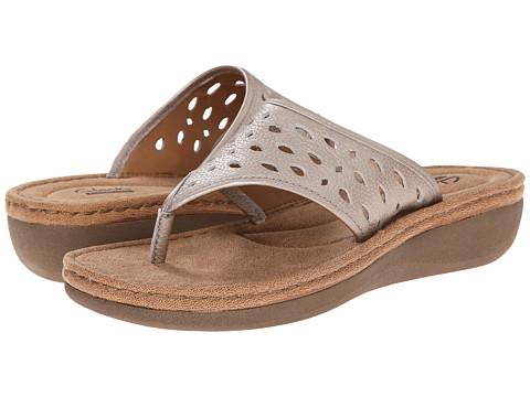 Clarks - Trista Zest (Silver) Women's Shoes