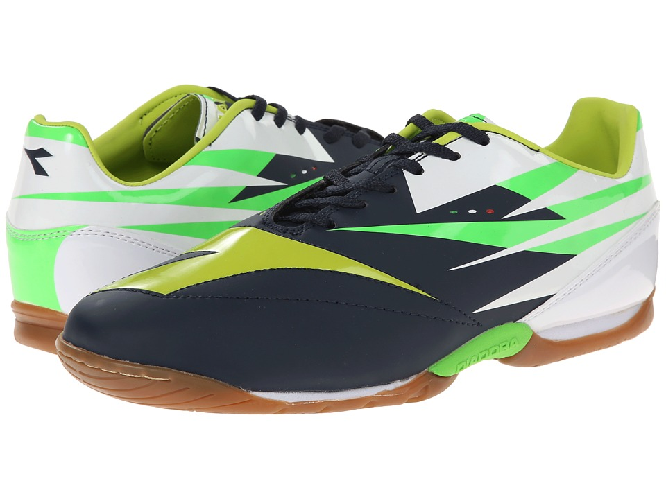 Diadora - DD-NA 2 R ID (Tuareg Blue/Fluo Grey) Men's Shoes
