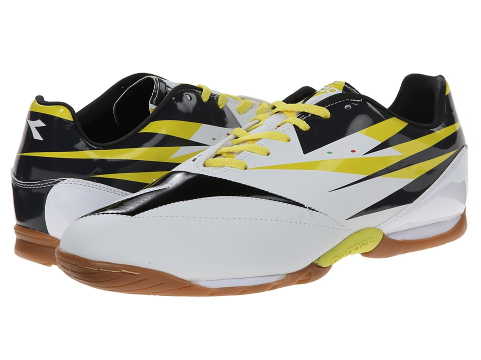 Diadora - DD-NA 2 R ID (White/Black/Fluo) Men's Shoes