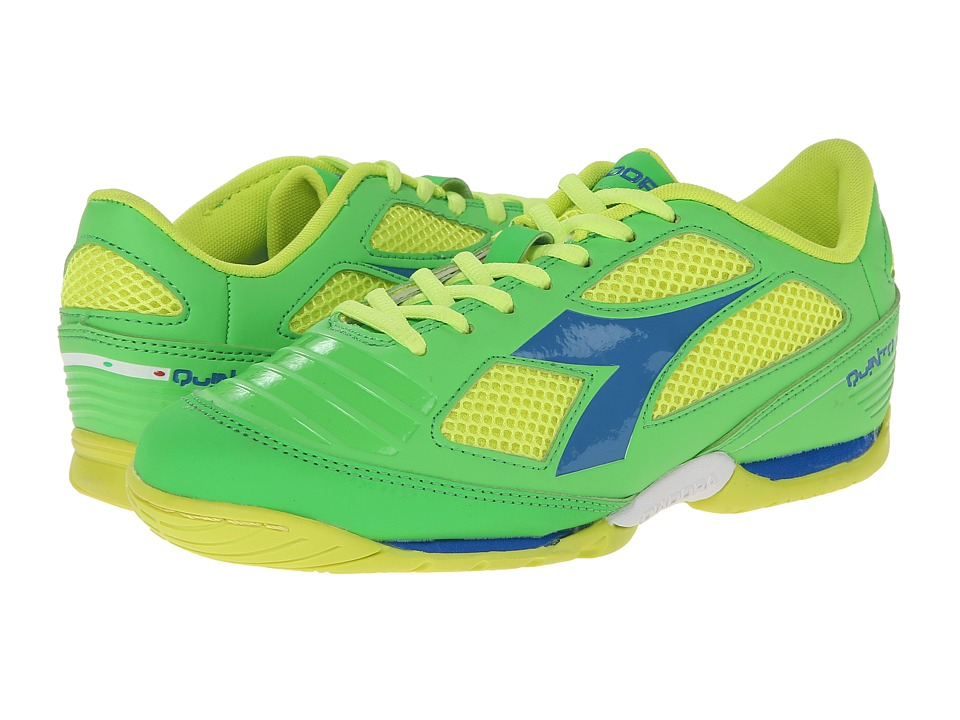 Diadora - Quinto IV ID (Green/Yellow Fluo) Men's Shoes