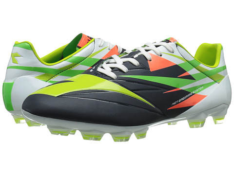 Diadora - DD-NA 2A GLX 14 (Tuareg Blue/Fluo Grey) Men's Soccer Shoes